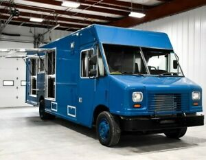 New Concession Food Truck For Sale Includes Pass through Refrigerators Ready