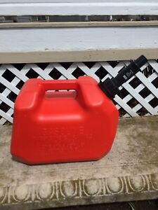 Scepter Spill Proof System 2 Gallon Heavy Duty Gas Can