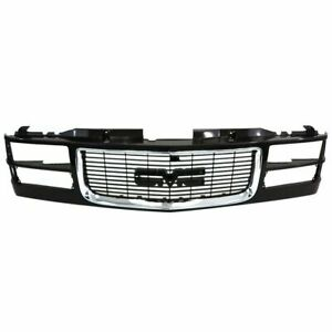 New Black Grille For 1994 2000 Gmc C K 2500 3500 Yukon Gm1200392 Ships Today