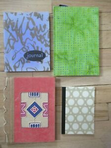 Lot Of 4 New Lined Notepads And Journals