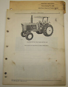 John Deere 4520 Dealer Parts Catalog Pc 1088 Including John Deere Binder