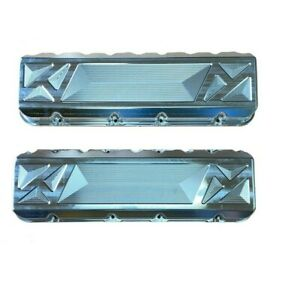 Bbc Billet Valve Covers Fits Big Chief Cylinder Heads