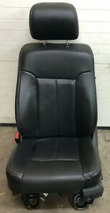 Ford Super Duty Leather Drivers Seat W airbag Heat Cool Black Read Desc