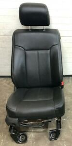 Ford Super Duty Leather Passenger Seat W Airbag Heat Cool Black Read Desc