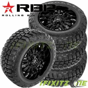 4 Rbp Repulsor M T Rx 275 65r18lt 123 120q E 10 All Season Jeep Truck Mud Tires