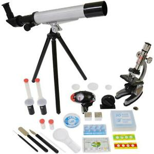 Microscope Telescope Set With Survival Kit