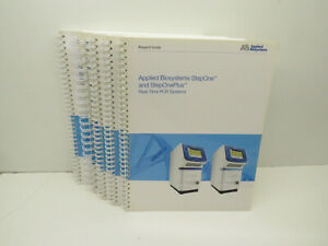 Applied Biosystems Stepone Steponeplus User Manual 5 book Paperback Pack Rev C