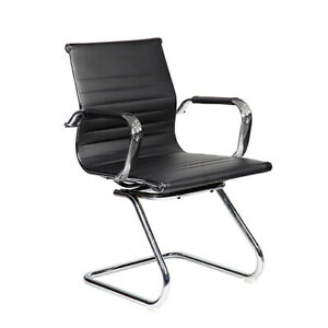 Modern Visitor Office Chair Color Black