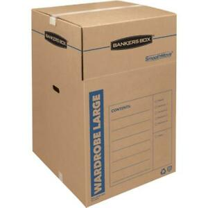 Smoothmove Wardrobe Box Regular Slotted Container rsc 24 X 24 X 40
