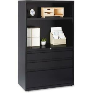 Lorell 36 Lateral File Drawer Combo Unit 36 X 18 6 X 60 2 X