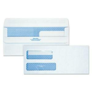 Double Window Redi seal Security tinted Envelope 9 Commercial Flap