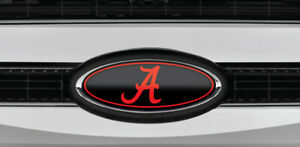 New Fits Various Ford Models Roll Tide Logo Overlay Emblem Decals 3pc Kit