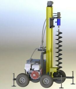 Plans Water Well Drill Drilling Equipment Driller Rig Diy Build Your Own