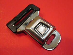 Ford Logo Metal Seat Belt Buckle Push Button With Latch
