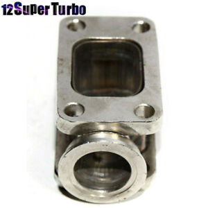T3 To T3 Turbo Manifold Flange Adapter Conversion W 38mm Vband Wastegate Flange