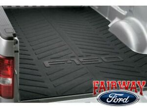 04 Thru 14 F 150 Oem Genuine Ford Parts Heavy Duty Rubber Bed Mat 6 5 Foot Bed