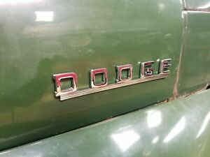1950 1951 1952 1953 Dodge Truck Name Plate Brand New Fargo B series Fender Badge