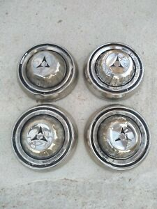 1968 Dodge Charger 500 Coronet Super Bee Dog Dish Hubcaps