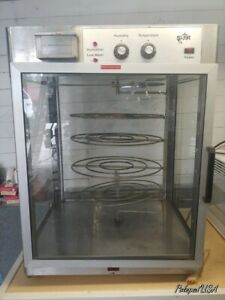Star Pizza Display Case 4holds 4 X 20in Pizzas Heated Humidified Large