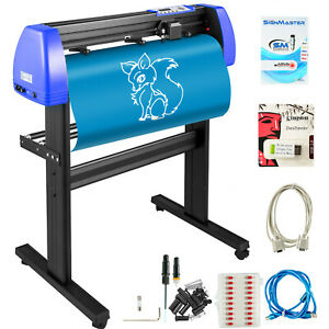 Vinyl Cutter Plotter Cutting 34 Sign Sticker Making Print Software 20blades Usb