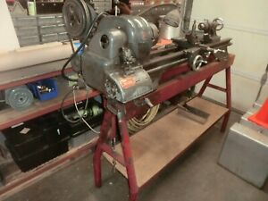 Atlas Lathe Qc54 Works Great Excellent Condition With Extra Parts
