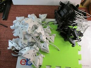 Lot Of 63 Heavy Duty Hooks Face out Retail Store Shelving Commercial Fast Shp