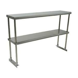 Eagle Group Bpdos 1848 x Blendpoint 48x18 18 Gauge Stainless Double Overshelf