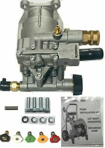 2750 Psi Pressure Washer Pump Excell Devilbiss Replace A20102 Horizontal