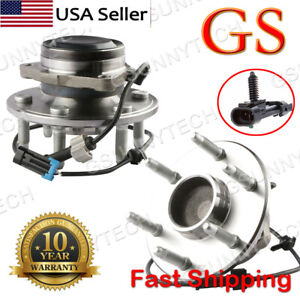 2pcs 2wd New Complete Front Wheel Hub Bearing Assembly Chevy Gmc 6 Lug
