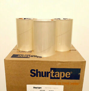 12 Rolls 6 X 72 Yds Clear Label Document Protection Packaging Acrylic Tape