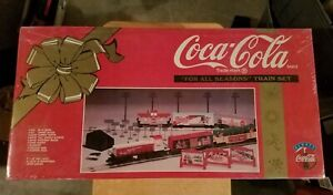 K-Line Coca-Cola Coke Train Set For All Seasons RARE Engine Car NIB Still Sealed