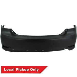 New Rear Primed Bumper Cover For 2011 2013 Toyota Corolla S Xrs To1100288