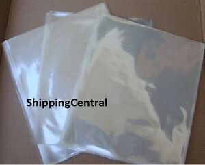7 X 10 Shrink Wrap Bags 100 Gauge Pvc Film High Clarity For Cd Gifts Books