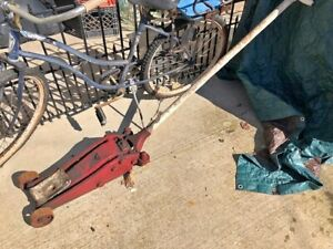 Vintage Blackhawk S3 Service Shop Low Profile Floor Jack 2 Ton 2 Stage