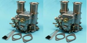 2x New Carburetor For 45 Dcoe 45mm Twin Choke 4 Cyl 6 Or V8 Engines 19600 017