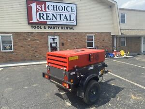 100 Cfm Chicago pneumatic Tow behind Air Compressor