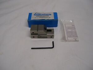 Gibraltar 42052647 Toolmakers Vise 1 Width 13 16 Opening Capacity 3 8 Height