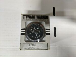 Nos Vintage Stewart Warner Vacuum Gauge 82328 In Original Box