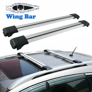 Car Top Roof Rack Cross Bar Luggage Cargo Carrier Rails Fit Mazda Cx 5 2013 2015