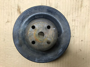 1971 1973 Pontiac 350 400 455 Gto Water Pump Pulley W Ps