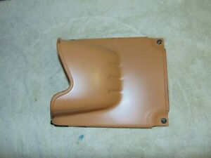 1990 1993 Mazda Mx 5 Miata Under Dash Steering Column Cover Tan Metal Kick Panel