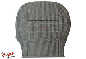 2008 Dodge Ram 1500 St Base Work Truck driver Side Bottom Cloth Seat Cover Gray