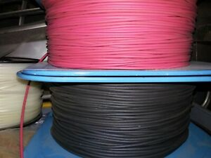 Belden 20 Awg Red And Black Test Lead Wire 5 000v Sold In 10 Ft Increments