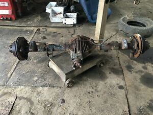 99 07 Chevy Silverado Gmc Sierra 2500hd 4x4 Rear Axle Differential 14 Bolt 4 10