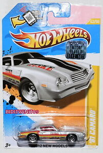 Hot Wheels 2012 New Models 81 Camaro Silver Factory Sealed W