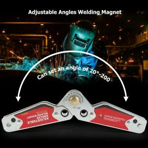 Magnets Welding Locator Magnetic Holder Welding Fixture Corner Right Angle Clamp