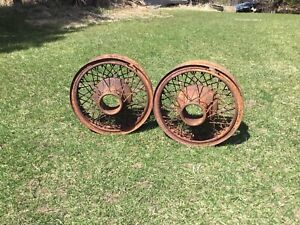 Vintage 1920s 1930s Buffalo Wire Wheels 18 Inch Dental Drive