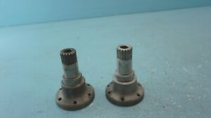 Porsche 911 912 Early Axle Flange Shaft Pair Oem