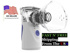 Mini Portable Ventilator Travel Rechargeable Mesh Nebulize Usa Ship