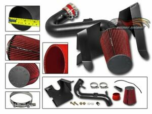 Gsp 05 09 Ford Mustang 4 0l V6 Matte Black Cold Air Intake System Filter